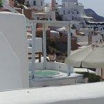 View across hotel