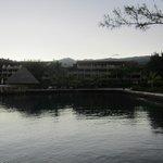 Hotel vu de la piscine