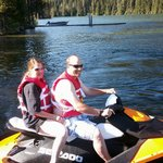 Lemolo Lake Resort Jet Ski rentals available.