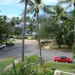 View from Room 14 towards beach