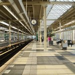 The Train station - so clean