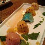 Pacman dumplings
