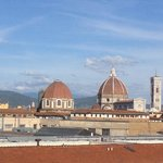 View from our balcony hotel Delle Nazioni Florence!