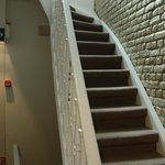 Лестница в отеле.