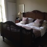 Bedroom with massive bed!!