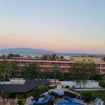 Beautiful sunrise from room 518.