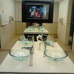 Reception area ladies toilets