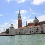 View of San Giorgio Maggiore from the waterbus