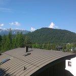 Uitzicht op balkon