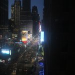 Night view over 7 ave.