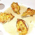 Queste ostriche gratinate erano una delizia