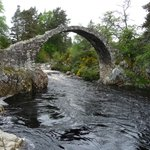 The old Carrbridge.
