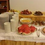 i dolci e la frutta