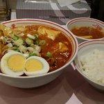 五目蒙古タンメンと麻婆定食