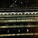 深夜の京都駅を見下ろして