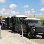 Der Shuttle-Bus.