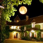 By a full moon evening