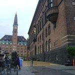 Ayuntamiento de Copenhague, Dinamarca.
