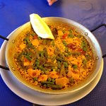 Incredible chicken paella