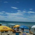 Vista da areia