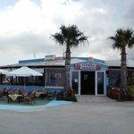 Taverna Agnanti sur la plage