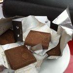 Chocolats fondus