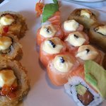 The sushi was delicious!