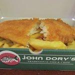 mmm... John Dory's fish and chips !