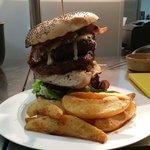 The New York Challenger burger