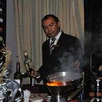 Juan Jose, the exceptional manager of Bordeaux Restaurant