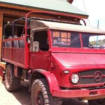 "Mercedes truck used for ""Jeep"" Tour.  Love it!"