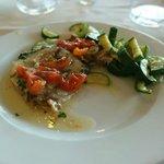 Fisch und Gemüse