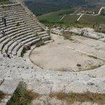 zicht vanaf het amfitheater