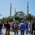 Hanging by Blue Mosque