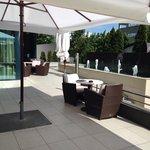 Ground floor terrace bar