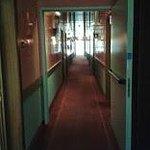Corridoio dell'ottavo piano