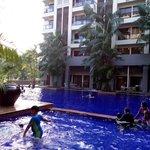 Pool at the Cinta Ayu