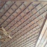 Bedroom ceiling detail