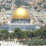 Impactante imagen de nuestra visita a Jerusalén