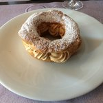 paris brest caramélisé fruits de la passion