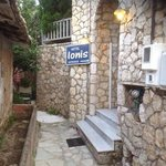 Hotel Ionis entrance.