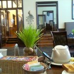 breakfast in the Peacock dining room - Hassayampa Inn - Prescott, AZ