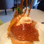 Brandy Snap Dessert
