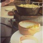 Angolo frittura live all'aperto