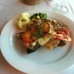 Seafood grill