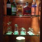 EC Room drink selection before standard.