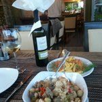 Good Turkish white wine and Testi Kebab
