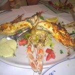 magnificent mixed fish platter