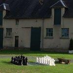 Yard Chess Game