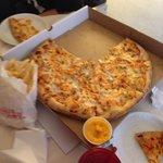 Buffalo chicken pizza!!!